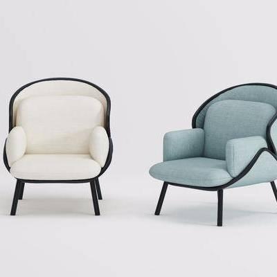单人椅, 单椅, 现代