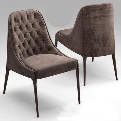 单人沙发, 单人椅, 现代