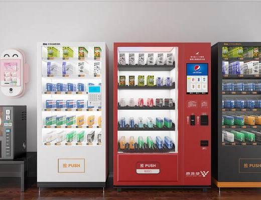 售货机, 自动售货机, 无人售货机