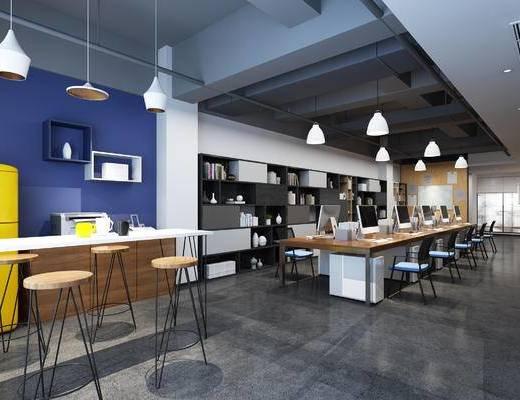 会议室, 茶水, 办公区, 桌椅组合