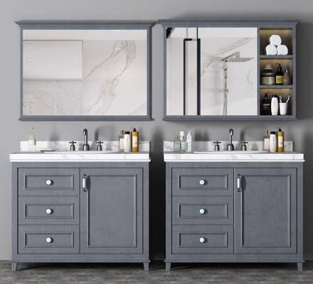 卫浴组合, 柜架组合, 洗浴组合