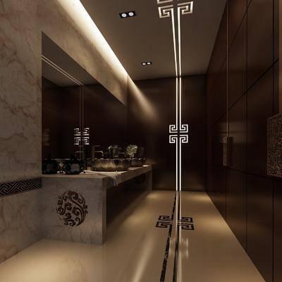 卫生间, 卫浴, 洗手盆, 卫浴组合