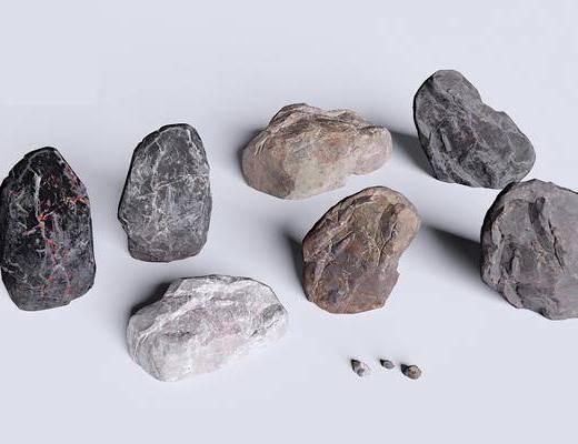 景观石, 石头组合, 现代