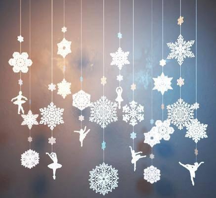 现代装饰件, 挂饰, 圣诞