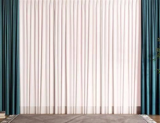 现代窗帘, 纱帘