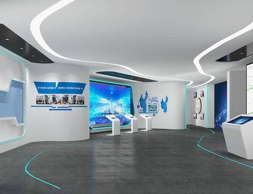 展览, 展厅, 墙饰