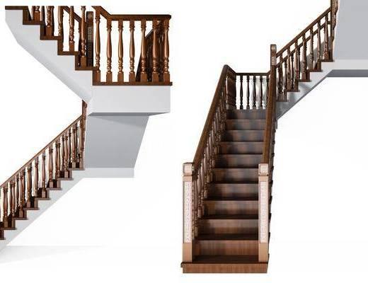 楼梯组合, 中式