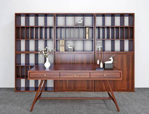 书柜, 柜架组合