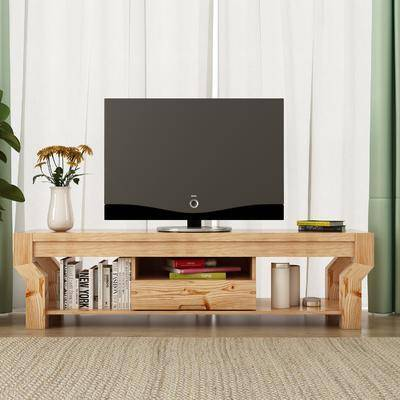电视柜, 边柜, 花瓶花卉, 盆栽, 绿植植物, 摆件组合, 现代简约