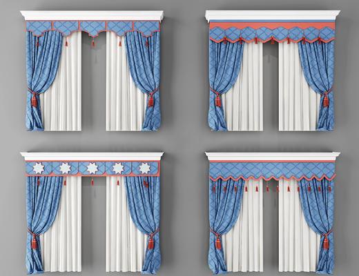 窗帘, 帘