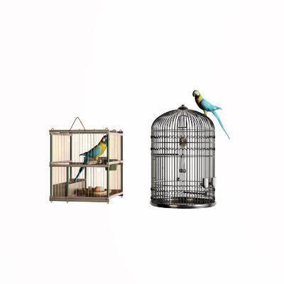 新中式, 鸟笼, 单体