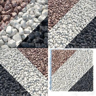 石头, 鹅卵石, 现代, 石块