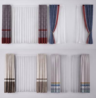 窗簾, 窗簾組合
