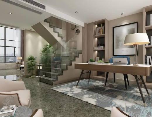 新中式, 客厅, 沙发茶几组合, 桌椅组合, 茶具组合, 餐具组合
