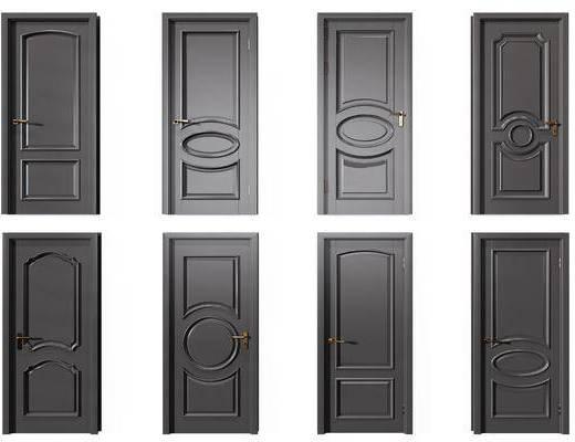 平开门组合, 门组合, 现代