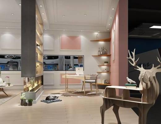 家具展, 展厅, 展览, 展会, 北欧, 北欧沙发