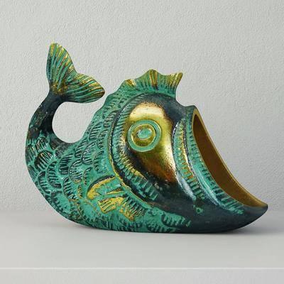 塑料, 鱼, 现代