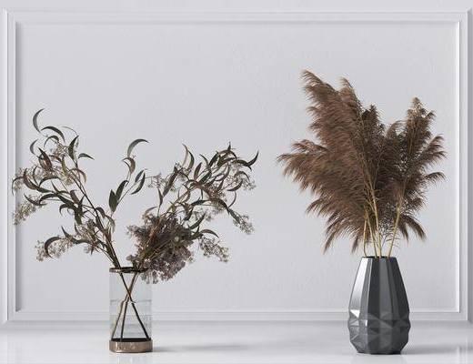 植物摆件组合