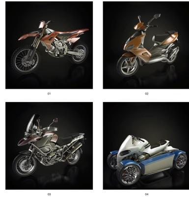 摩托, 摩托车, 交通工具, 现代