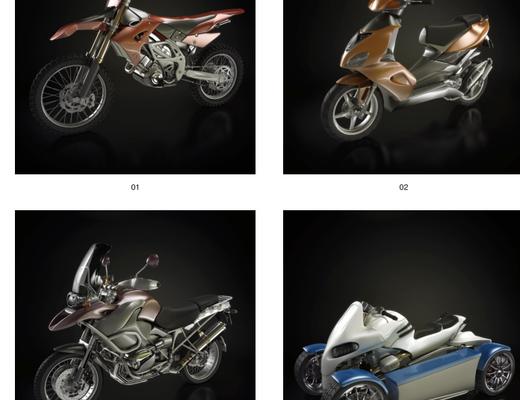 摩托, 摩托车, Evermotion, Archmodels, EV