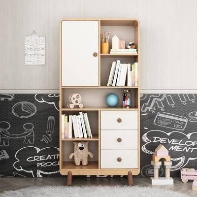 书柜, 置物柜
