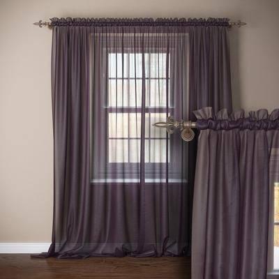 窗帘, 罗马杆, 现代