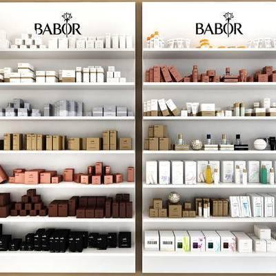 化妆品展示架, 商品展架, 化妆品