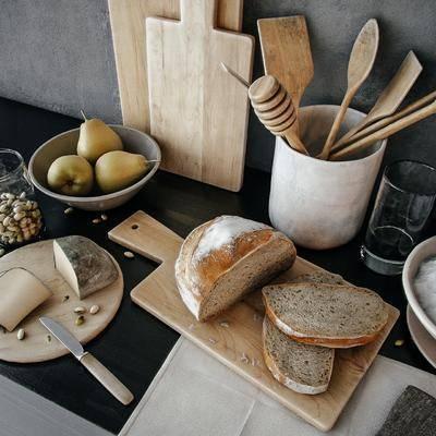 厨房, 厨具食物, 摆件, 现代