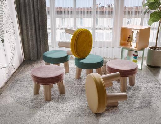 儿童座椅, 休闲椅, 墙饰
