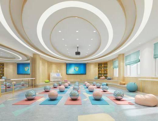 音乐室, 课室, 瑜伽室