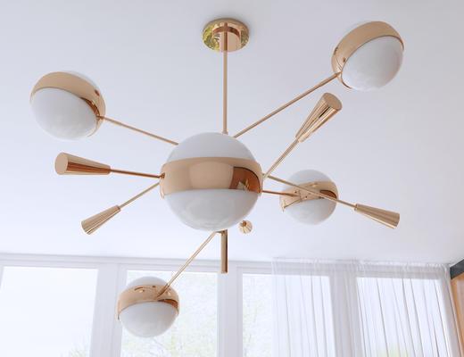 吊灯, 现代吊灯, 灯, 灯具