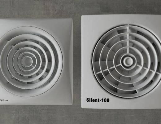 排氣扇, 現代