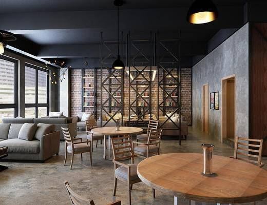办公室, 桌椅, 桌子, 椅子, 沙发组合, 沙发茶几组合