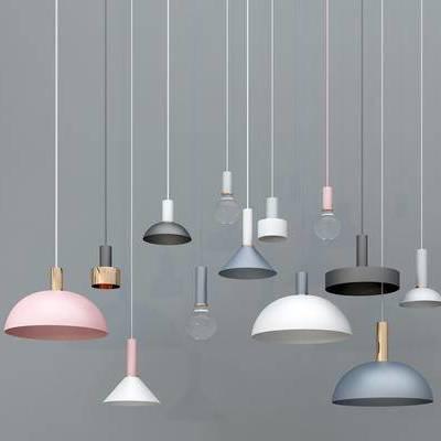 吊灯, 现代吊灯, 艺术吊灯, 餐厅吊灯, 彩色吊灯, 灯泡吊灯, 金属吊灯