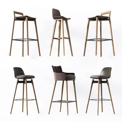 吧椅, 单椅, 椅子, 北欧