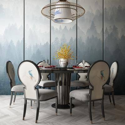 餐桌, 桌椅组合, 餐具组合