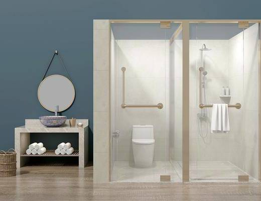 卫浴, 洗浴组合