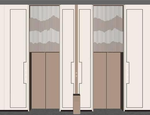 电梯间, 电梯厅