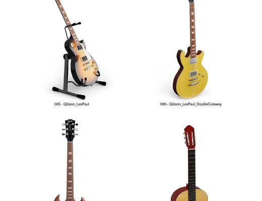 乐器, 音乐, Evermotion, Archmodels, EV