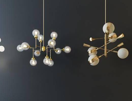 吊灯, 灯具组合, 灯饰