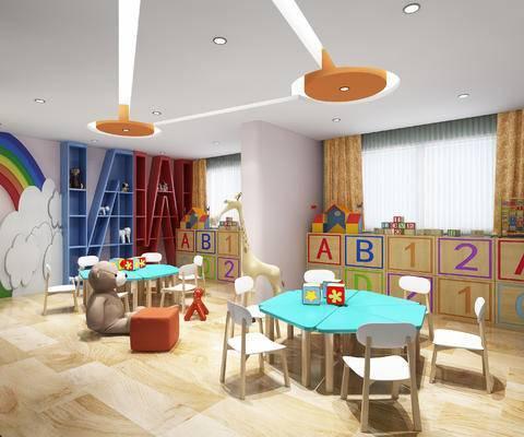 工装, 现代幼儿园