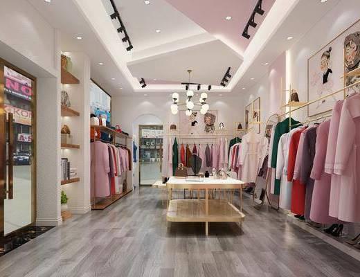 服裝店, 現代, 輕奢
