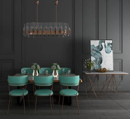现代餐桌椅, 餐桌椅