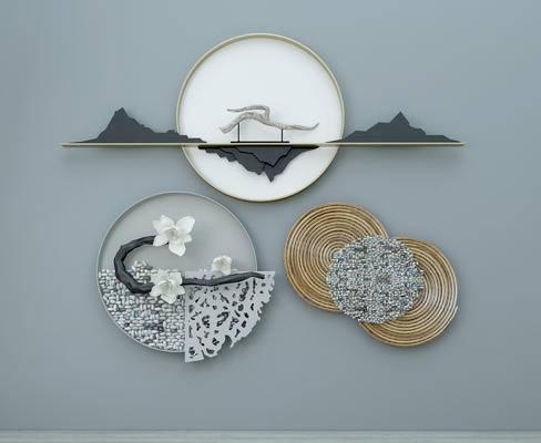 新中式墙饰, 墙饰, 中式墙饰, 挂件, 装饰品, 摆件