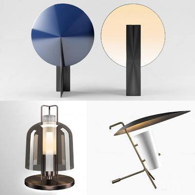 现代, 台灯, 单体