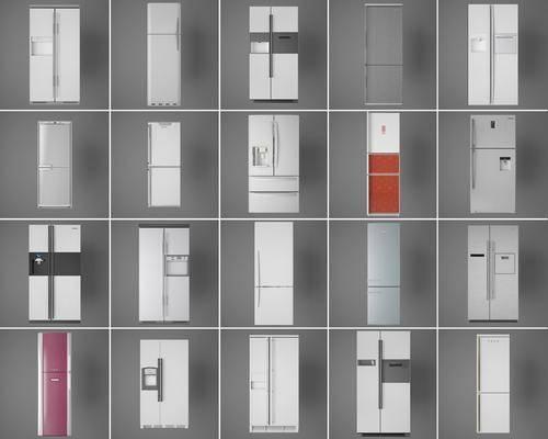 家用电器, 冰箱冰柜, 现代