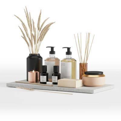 卫浴小件, 洗涤日用, 现代卫浴小件, 香薰