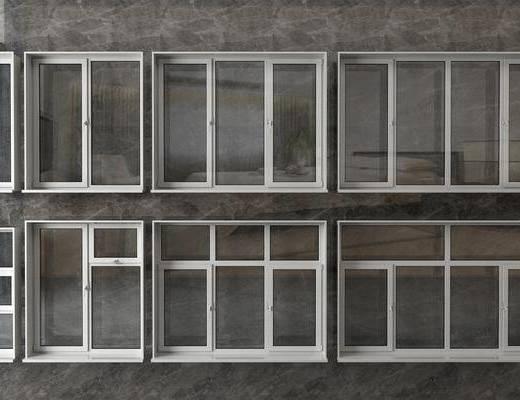 窗戶組合, 平開窗組合, 現代