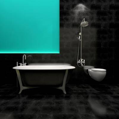 卫浴洁具, 卫浴组合, 花洒, 现代