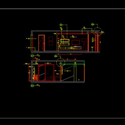 CAD施工图, 家装施工图, 平面图, 下得乐3888套模型合辑